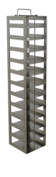 Chest freezer rack for 2 inch boxes, 12 boxes vertically (26-3/8 × 5-5/8 × 5-1/2 inch)