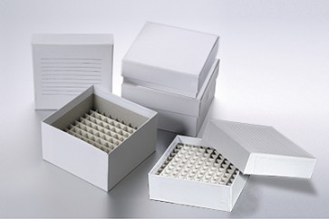 25-cell cardboard freezer box