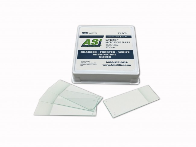 Asi Supreme Frosted Glass Microscope Slides