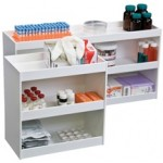 12 Inch Wide Safety Shelves (Straight Sides)