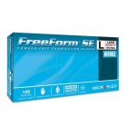 FreeForm Powder Free, Nitrile Exam Glove, Mid-Duty for extended use in wet environments
