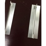 T and L style Clips for Upright Freezer Racks